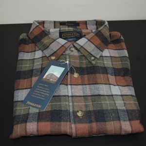 Pendleton Mason Flannel Shirt NEW with tags